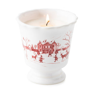 Country Estate Winter Frolic Ruby Scented Candle