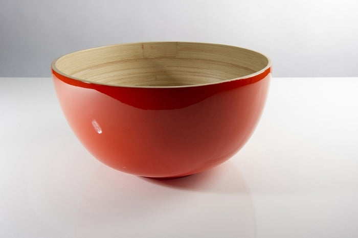TCHON Medium Bamboo Salad Bowl
