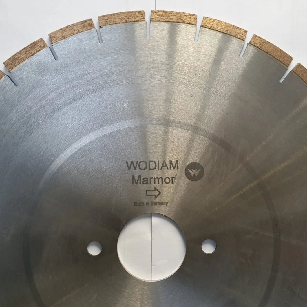 MARMOR - Blades for variable rpm saw cutting Marble