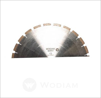 BARRY - Blades for Fixed speed rpm saw cutting Granite / Quartz