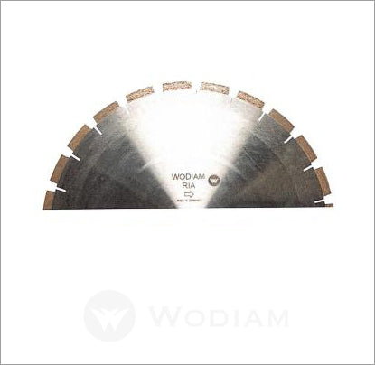 RIA - Blades for Variable speed rpm saw cutting Granite / Quartz