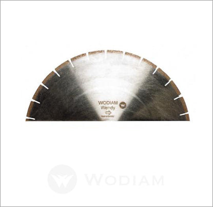 WENDY - Blades for Variable speed rpm saw cutting Sintered materials