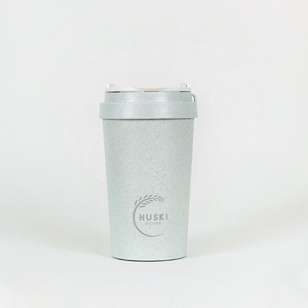 Recycled Rice Husk Coffee Cup 400ml - Duck Egg