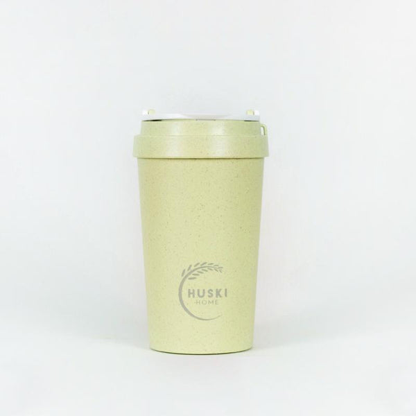 Recycled Rice Husk Coffee Cup 400ml - Pistachio