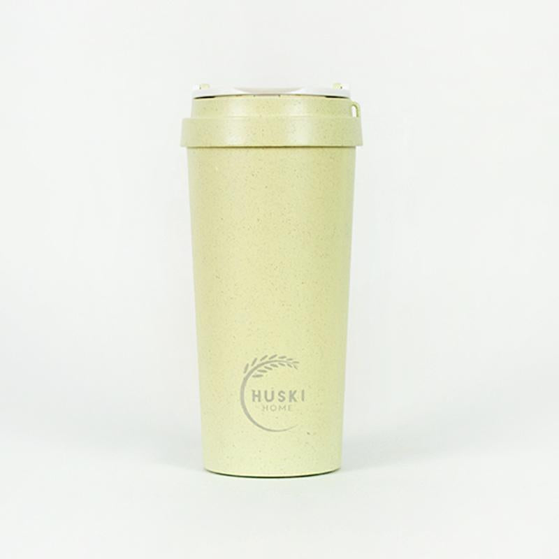 Recycled Rice Husk Coffee Cup 500ml - Pistachio