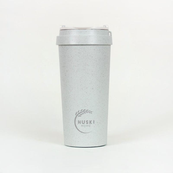 Recycled Rice Husk Coffee Cup 500ml - Duck Egg