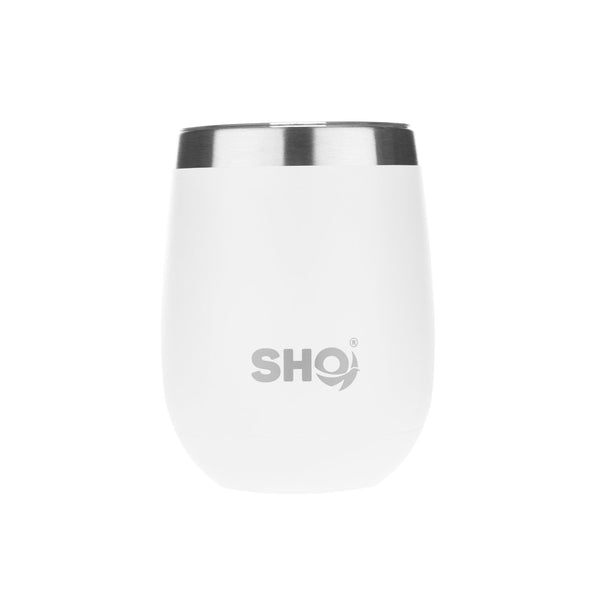 Stainless Steel Insulated Tumbler Pacto - White