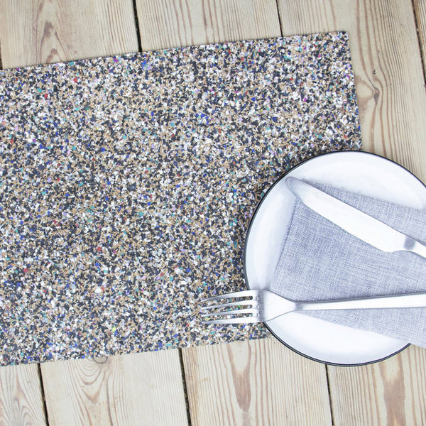 Beach Clean Set of 4 Recycled Rectangular Placemats by Liga