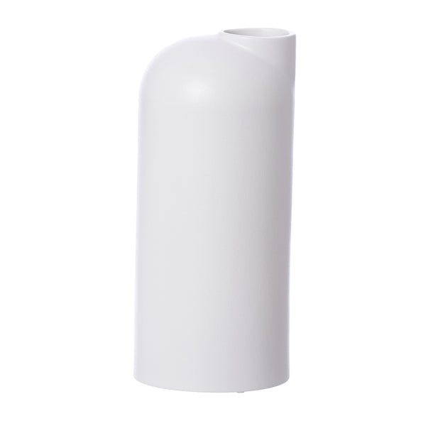Anna Ceramic Vase - Large White by Oohh Collection