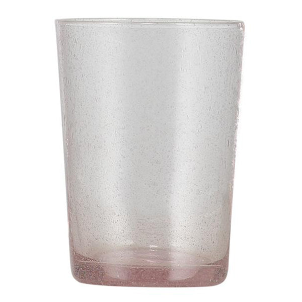 Recycled Glass Handmade Tumblers Set of 2 - Old Rose