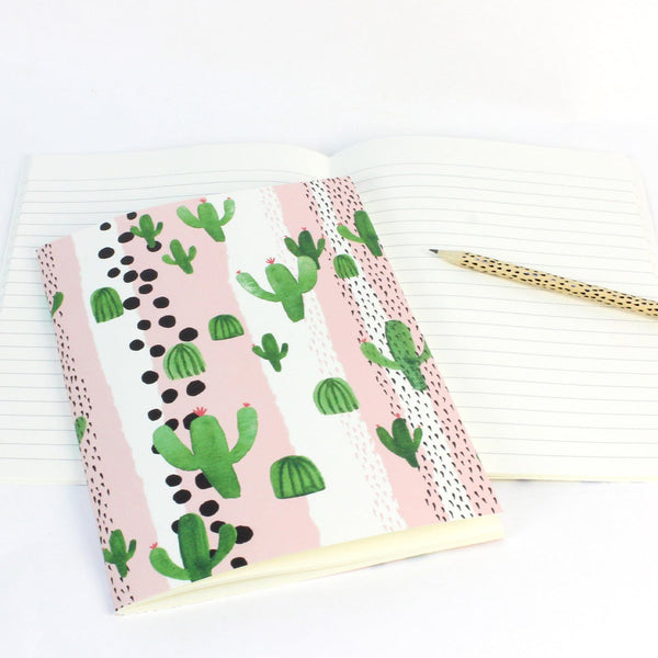 Cactus Soft Cover Notebook by Reine Mere