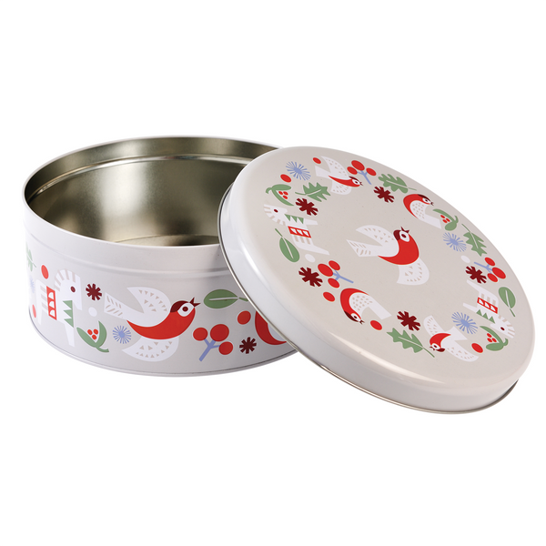 Nordic Christmas Cake Tin by Rex London