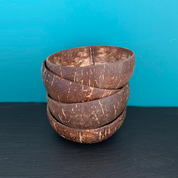 Coconut Bowls Set of 4