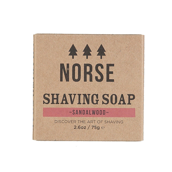 Natural Vegan Sandalwood Shaving Soap by Norse