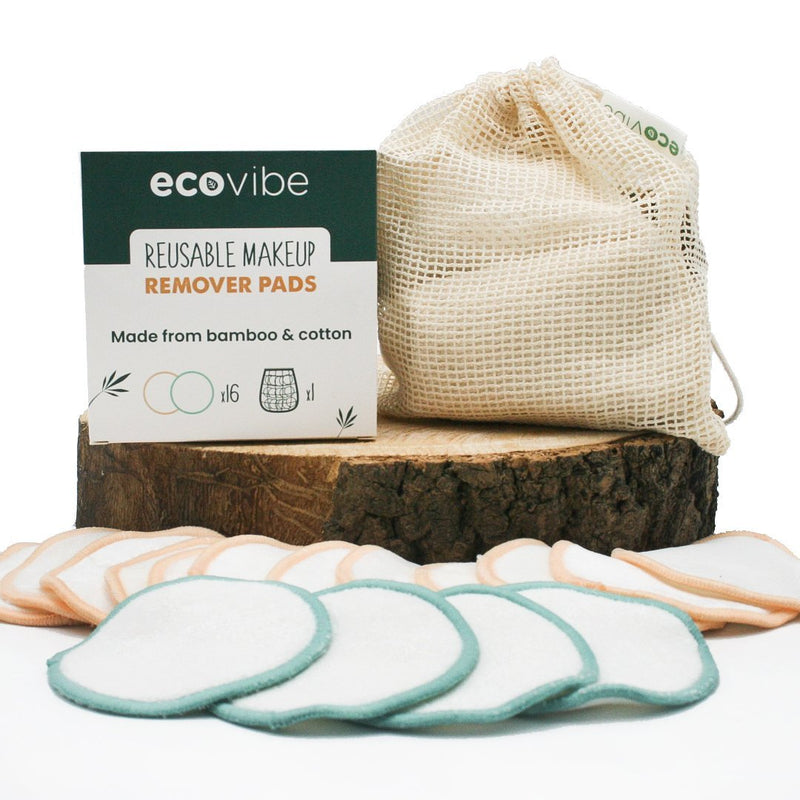 Reusable Bamboo Make Up Remover Pads x 16