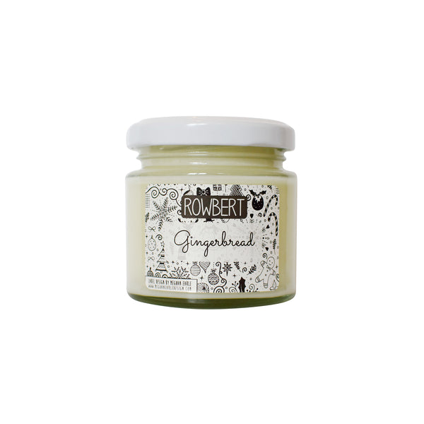 Essential Oil Soy Wax Candle - Gingerbread by Rowbert