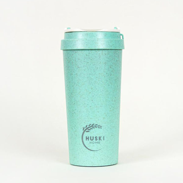 Recycled Rice Husk Coffee Cup 500ml - Lagoon