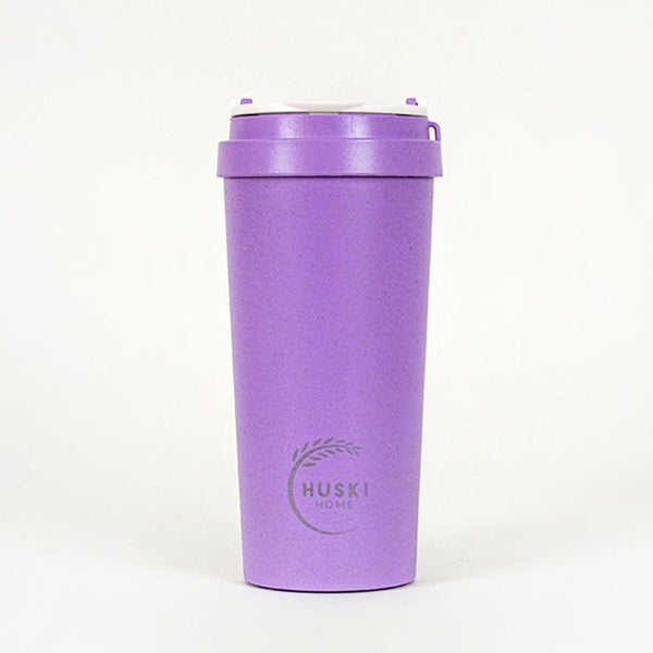 Recycled Rice Husk Coffee Cup 500ml - Violet