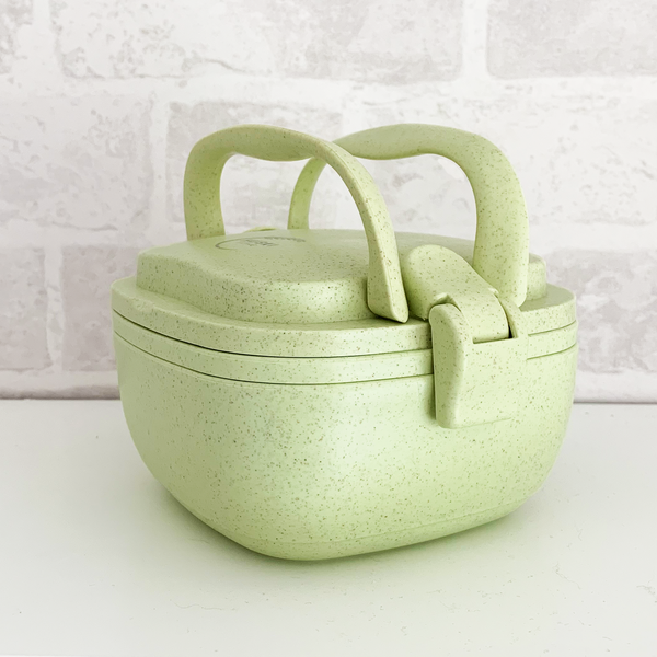 Recycled Rice Husk Lunchbox - Pistachio