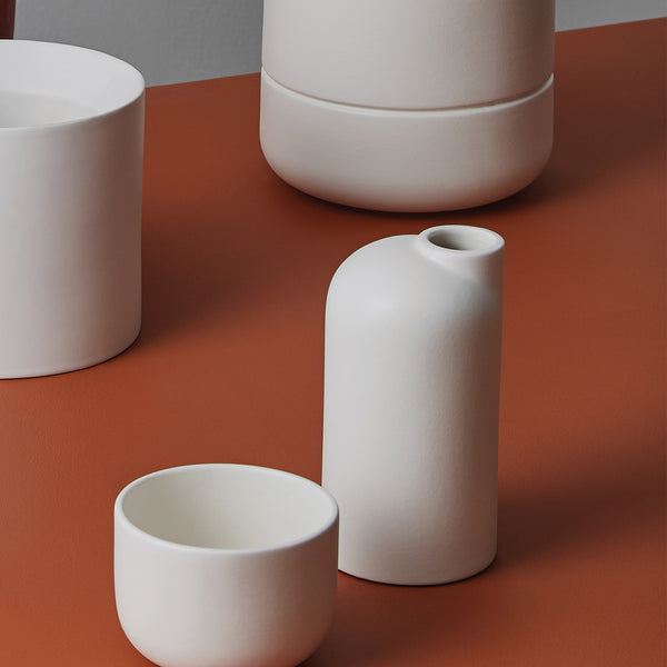 Anna Ceramic Vase - Small White by Oohh Collection