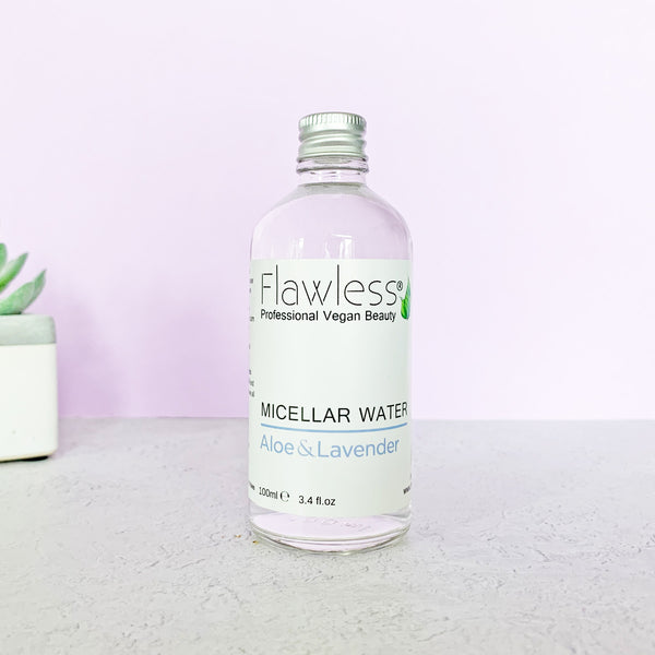 Micellar Water Facial Cleanser - Aloe & Lavender by Flawless