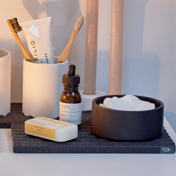 Ceramic Bathroom Accessories Tray - by Oohh Collection