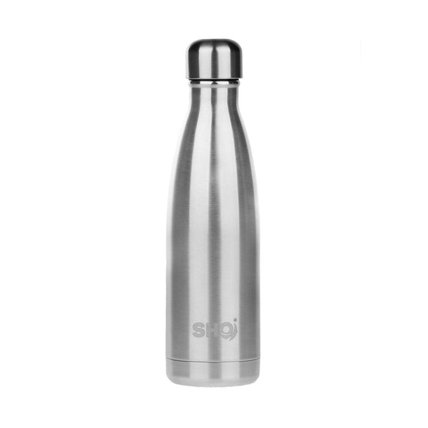 Stainless Steel Reusable Bottle 500ml - Stainless Steel