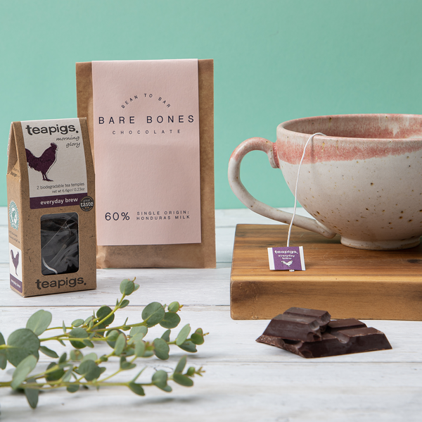Time Out Teacup & Chocolate Gift Set