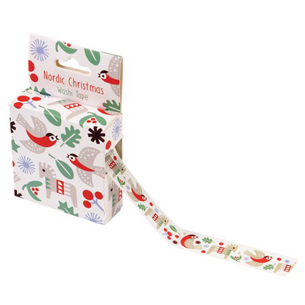 Nordic Christmas Washi Tape by Rex London