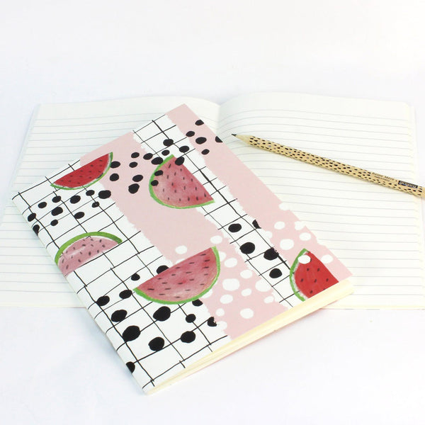 Watermelon Soft Cover Notebook by Reine Mere