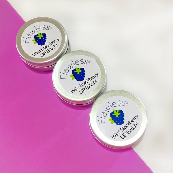 Vegan Wild Blackberry Lip Balm by Flawless