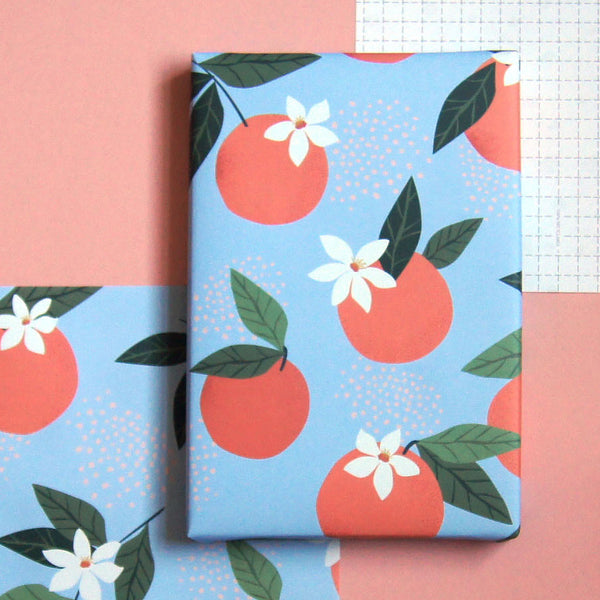 Recyclable Wrapping Paper - Sicilia by Cadeaux Paperworks