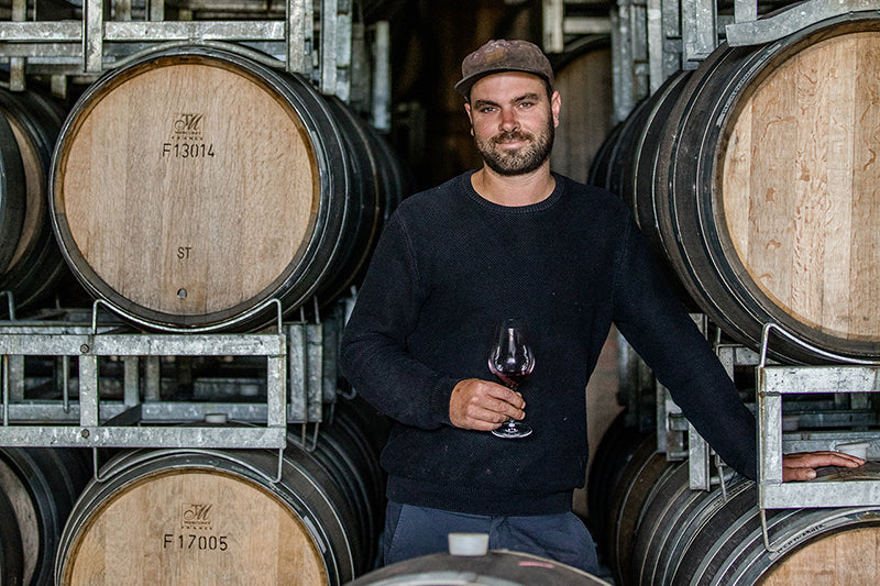 Ben Weaver from Churton Wines in Marlborough, New Zealand