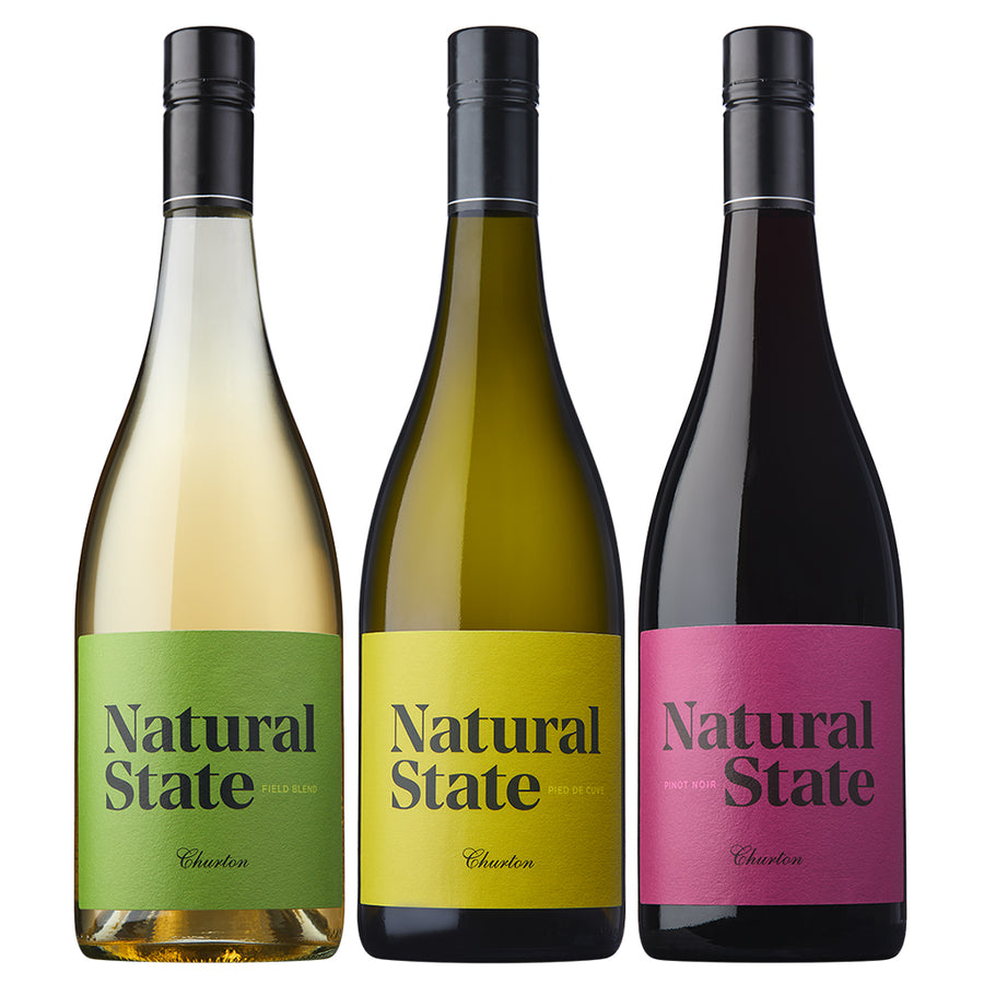 Mixed Natural State 6 Pack from Churton Marlborough, New Zealand