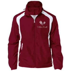 Open image in slideshow, Red Wine Windbreaker