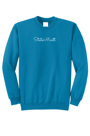 Open image in slideshow, LIMITED EDITION ! Neon Blue Crewneck