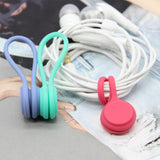 3Pcs Earphone Cord Winder Cable Holder Organizer