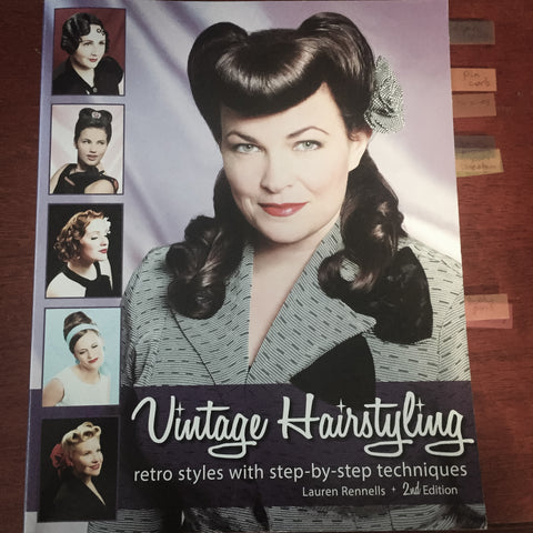 Vintage Hairstyling Book