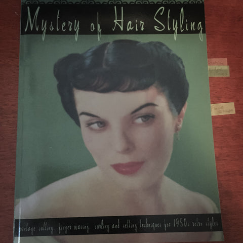 Mystery of hairstyling book