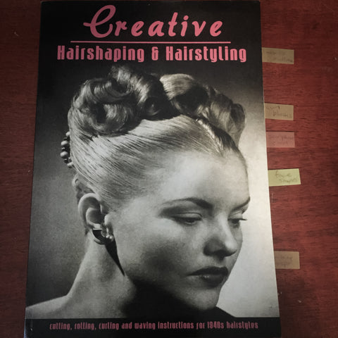 Creative hairshaping book