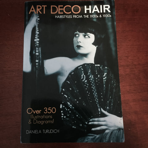 Art deco hair book