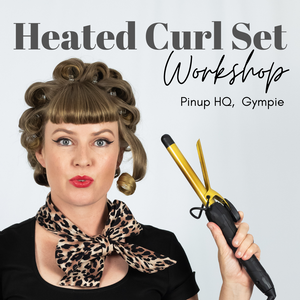 Heated Curl Set Workshop - Gympie 22nd May