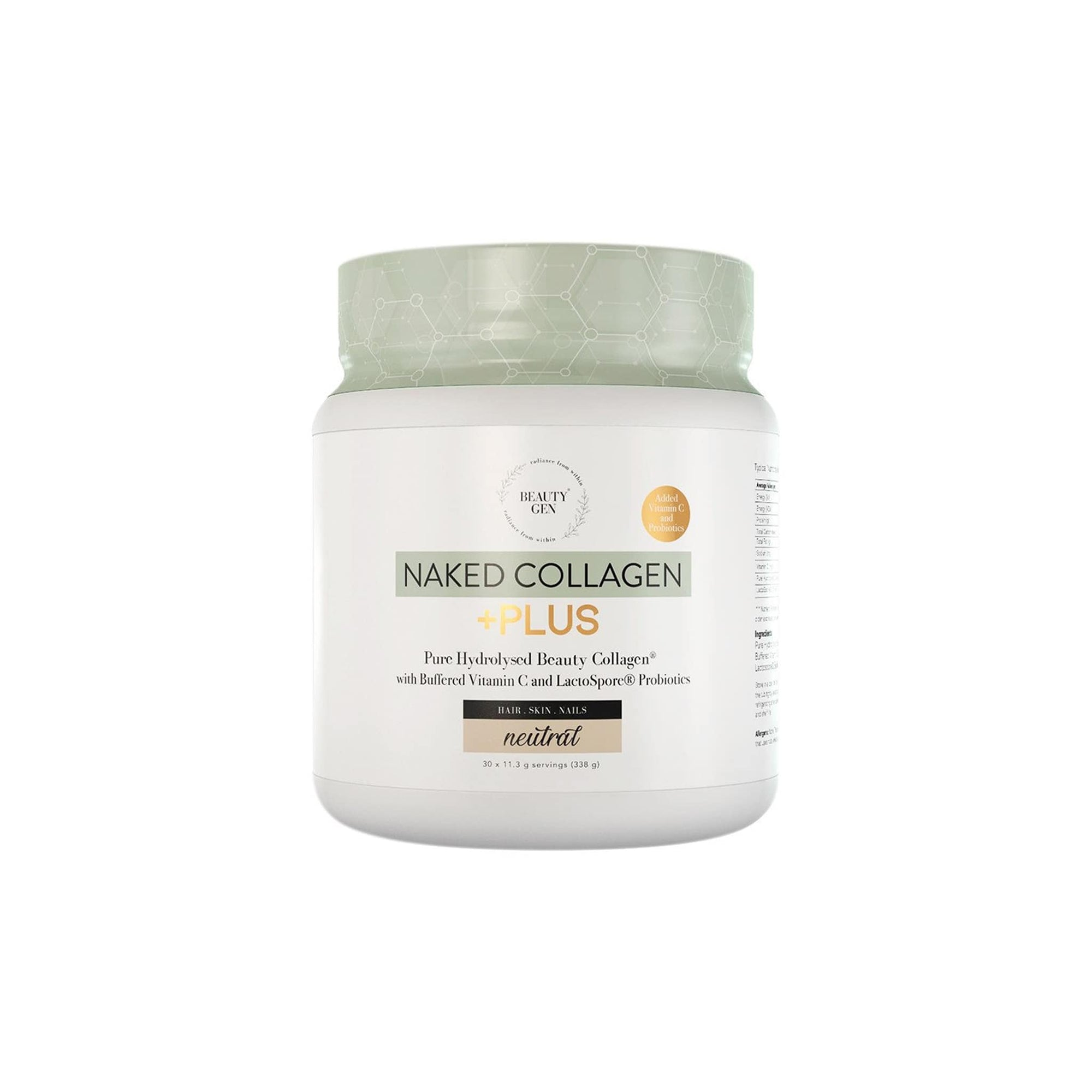 Beauty Gen Naked Collagen Plus 338g