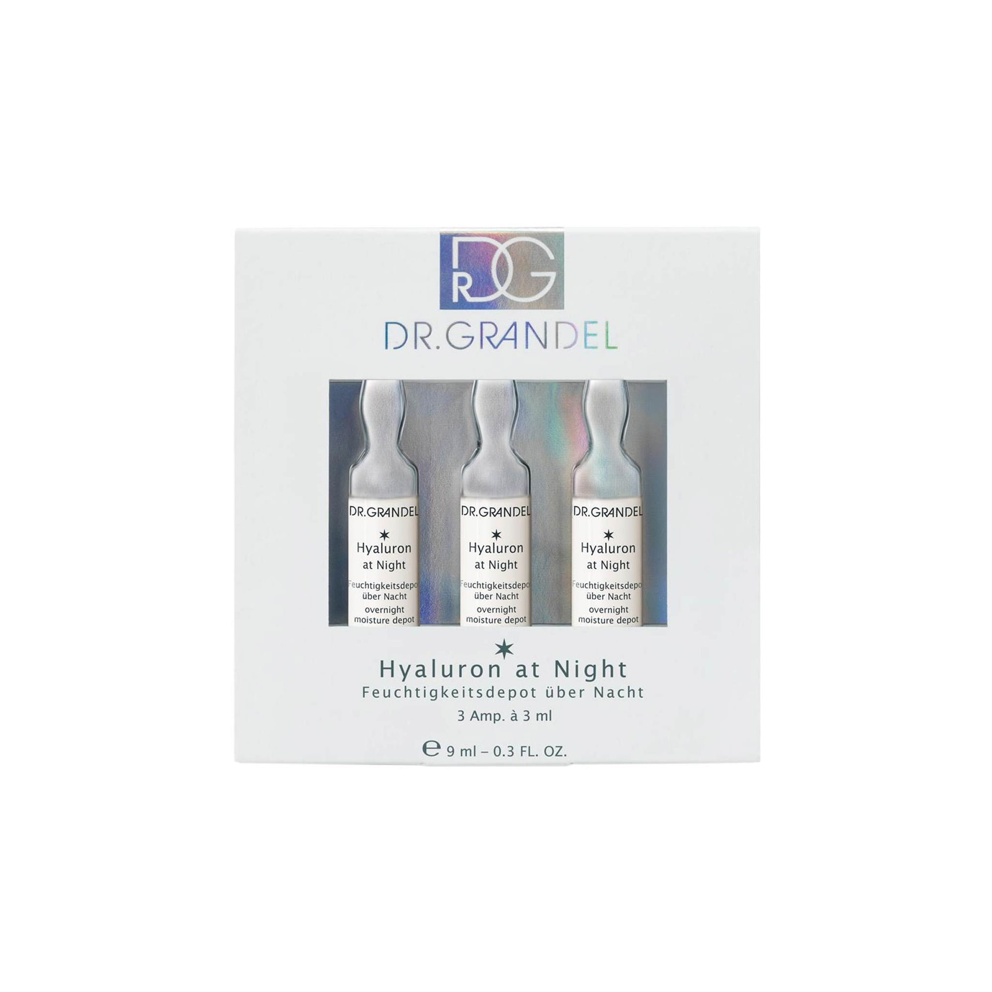 Dr Grandel Ampoules Hyaluron at Night 3 x 3 ml