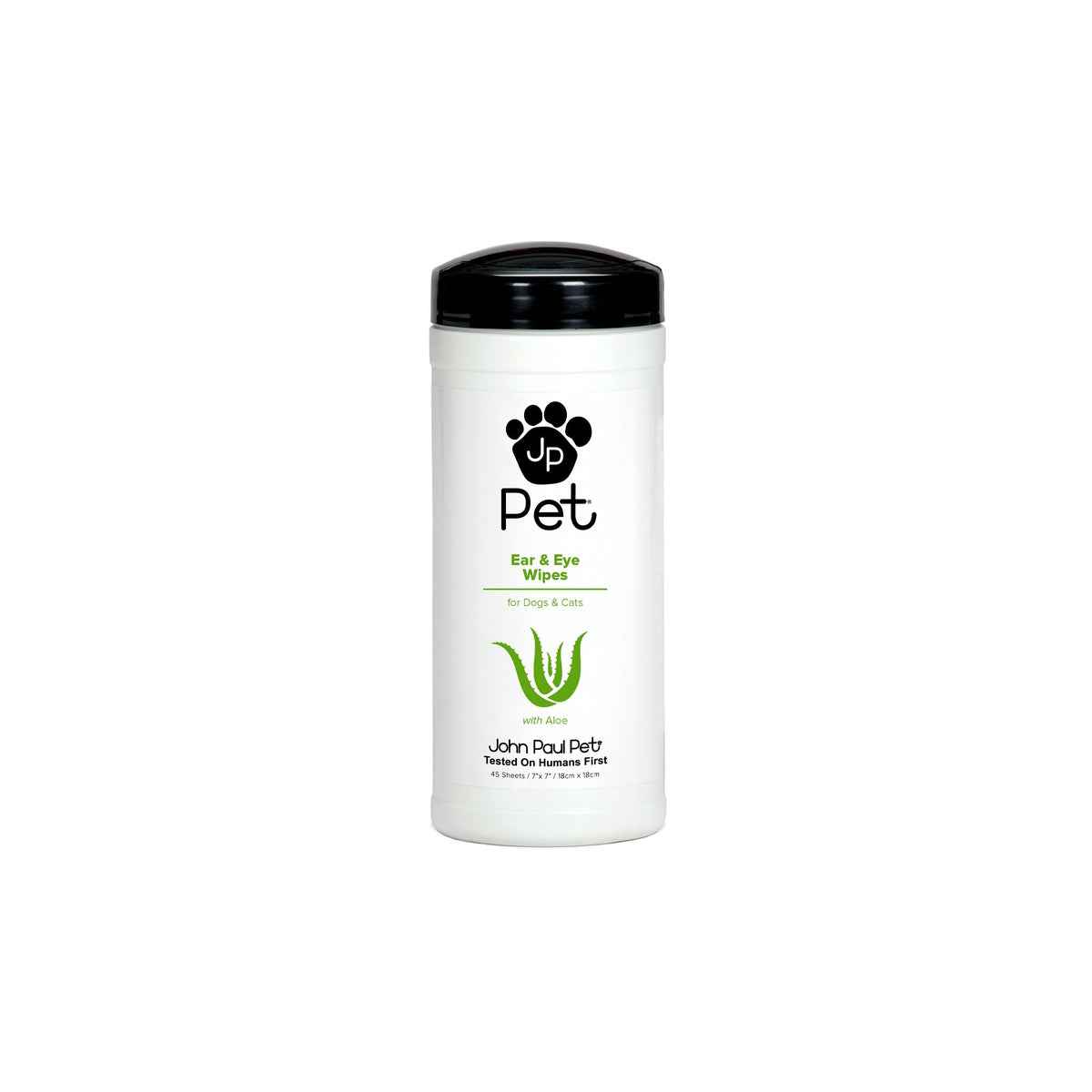 John Paul Pet Ear & Eye Pet Wipes 45