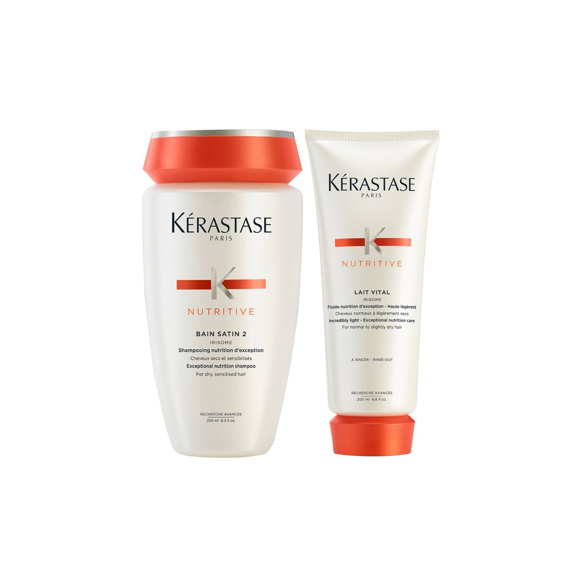 Kerastase Bain Satin 2 Bundle