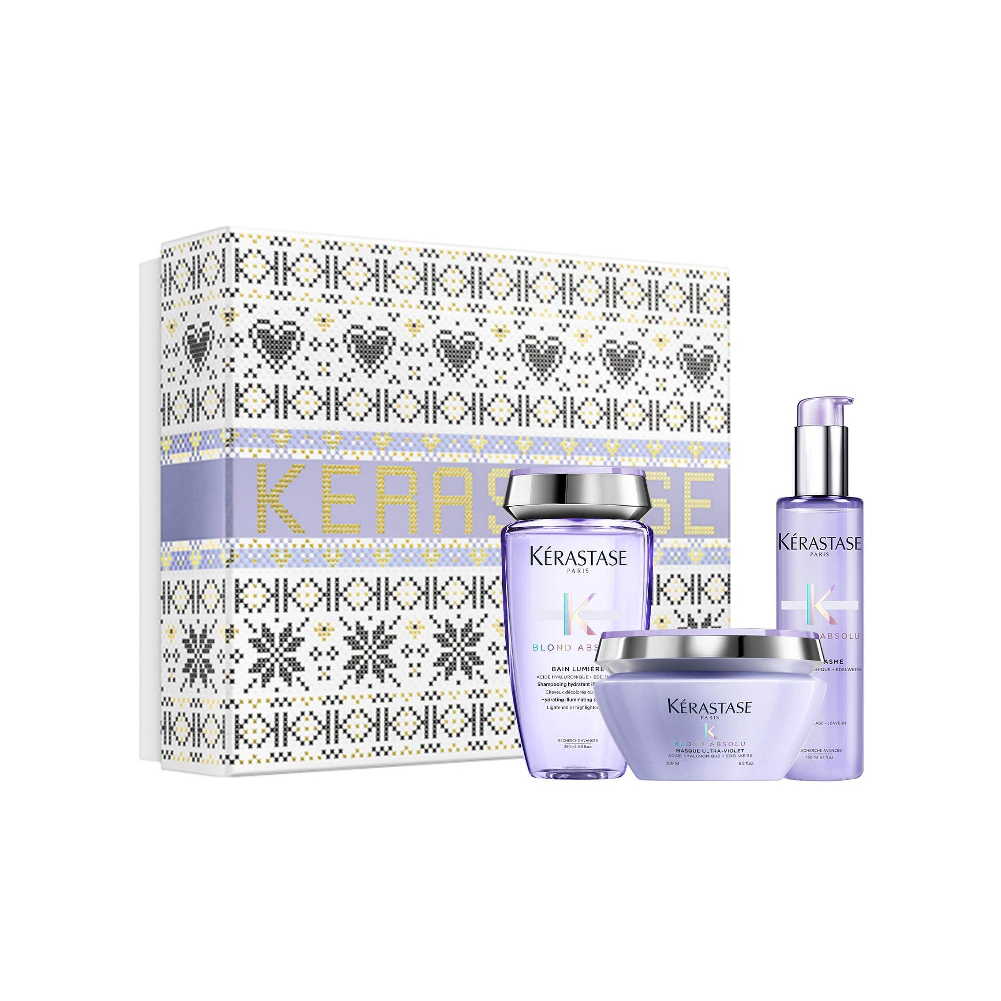 Kérastase Blond Absolu Luxury Masque Gift Set For Lightened Hair