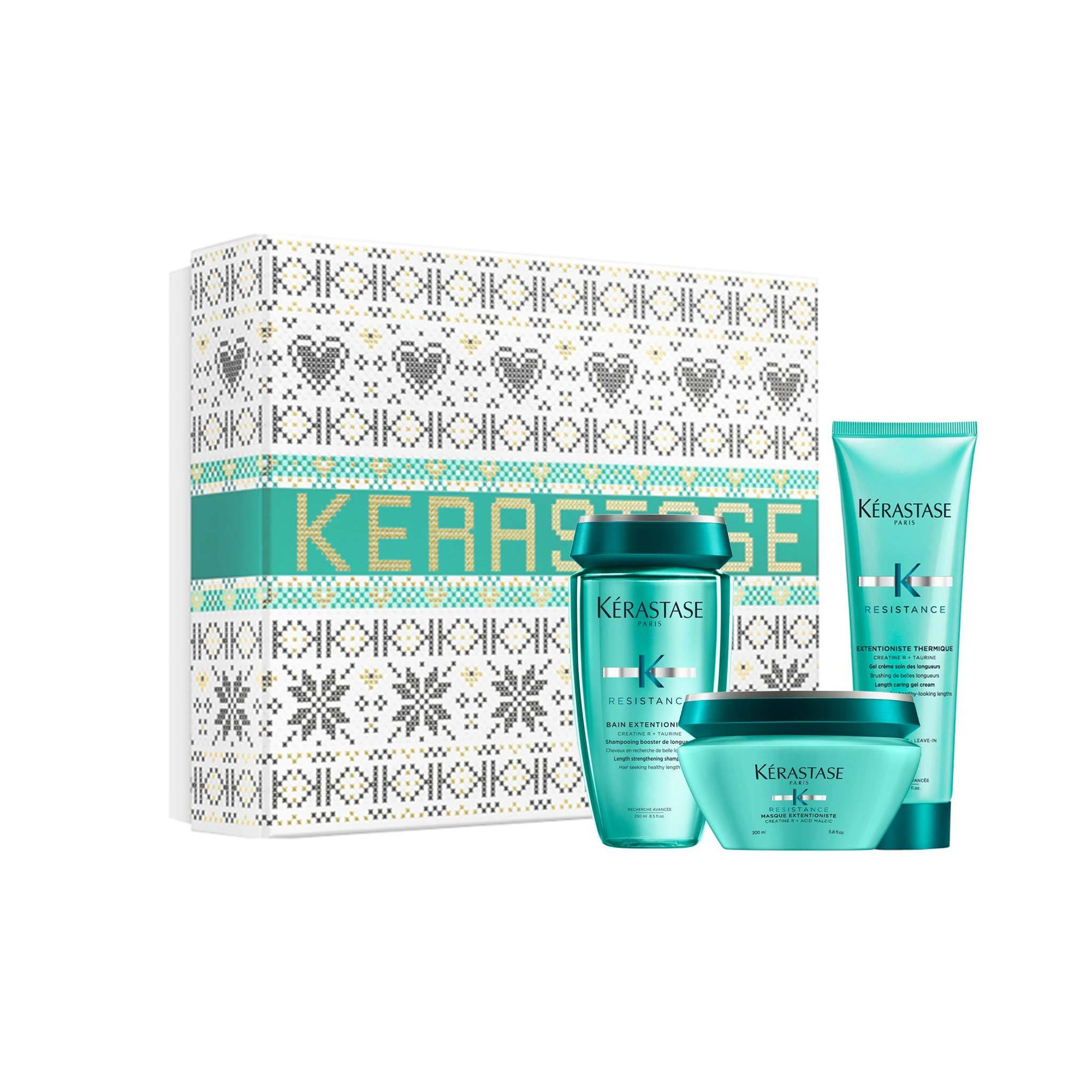 Kerastase Extentioniste Luxury Masque Gift Set For Healthier Looking Lengths