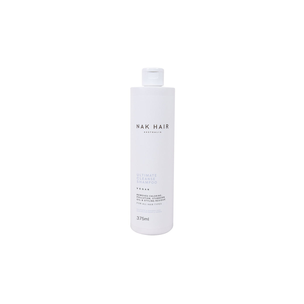Nak Signatures Ultimate Cleanse Shampoo 375ml