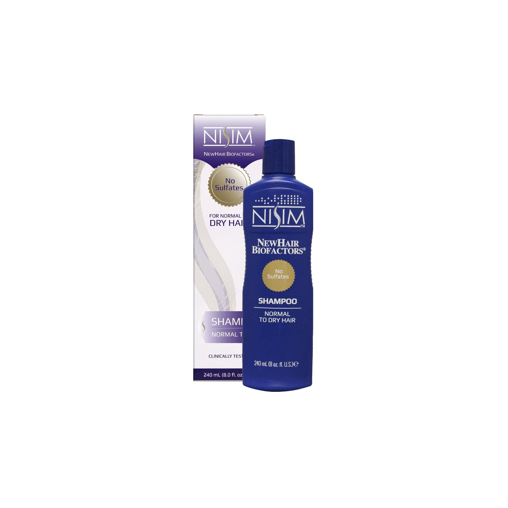 Nisim Shampoo for Normal to Dry Hair 240ml